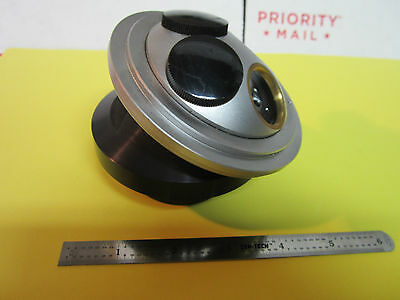 Microscope Part Leitz Germany Nosepiece Electric Changer As Is Bin2a