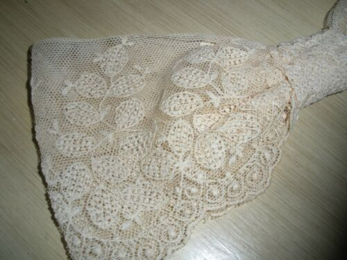 Antique Italian Lace Dress Bow