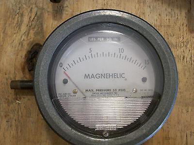 Magnehelic Gauge Max. Pressure 35 Psig Usa