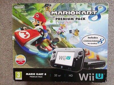 Nintendo Wii U Console 32gb Premium - Mario Kart 8 Edition