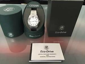 Citizen AW1240-57A Eco-Drive Titanium watch for sale $170 (New) Sydney City Inner Sydney Preview