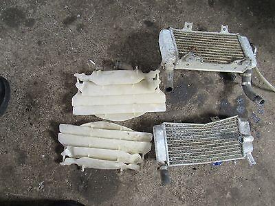 2004 honda crf250 r radiators left right radiator