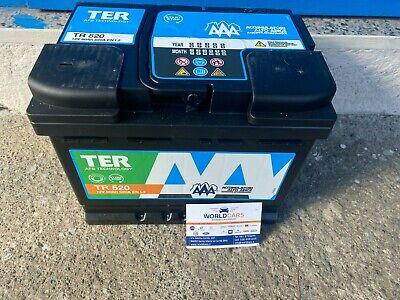 BATTERIA AUTO ALTO ADIGE 60 AH 520 Ah START E STOP EFB 500 L 500X SMART PANDA