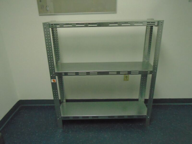 Galvanized Steel Shelving Heavy Duty Commercial Industrial Garage Stores