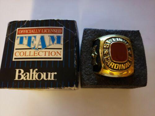 Balfour MLB ST. LOUIS CARDINALS Jumbo Display Paperweight Ri