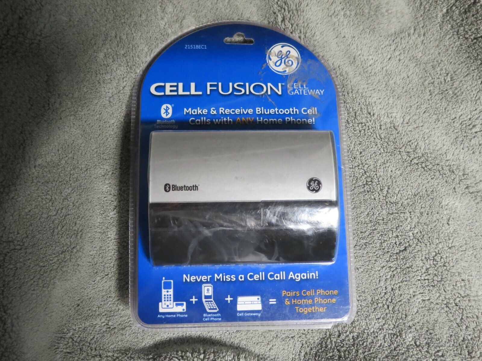 GE  21518EC1 Dect 6.0 Cell Fusion Bluetooth Adjunct