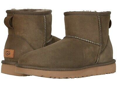 Women's Shoes UGG CLASSIC MINI II Sheepskin Boots 1016222 EUCALYPTUS SPRAY Women Classic Fleece