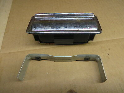 JAGUAR XJ6 1985 CONSOLE DECK ASHTRAY COVERED HOUSING  INSERT chrome
