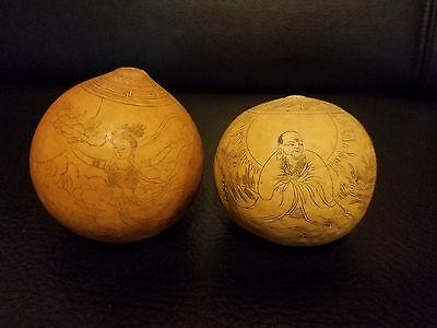 Pari of beautiful Chinese Gourd.
