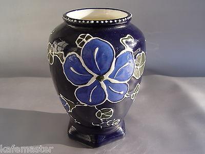 Jugendstil Keramik Vase Art Nouveau Czechoslovakia