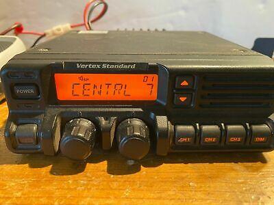Vertex Standard Vx-5500l Mobile 37-50 Mhz 250 Ch. 70w Waccessories Tested Ok