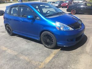 2006 Honda fit is trade it no MVI