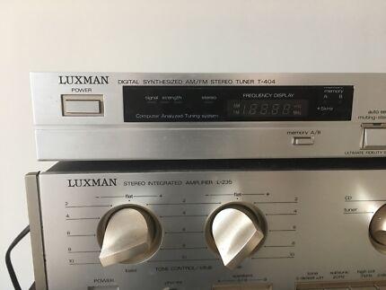 Luxman Amp and Tuner