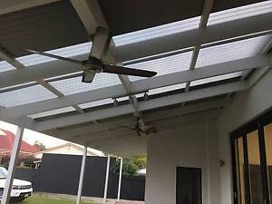 Wooden veranda/pergola (with colorbond sheeting) Unley Unley Area Preview