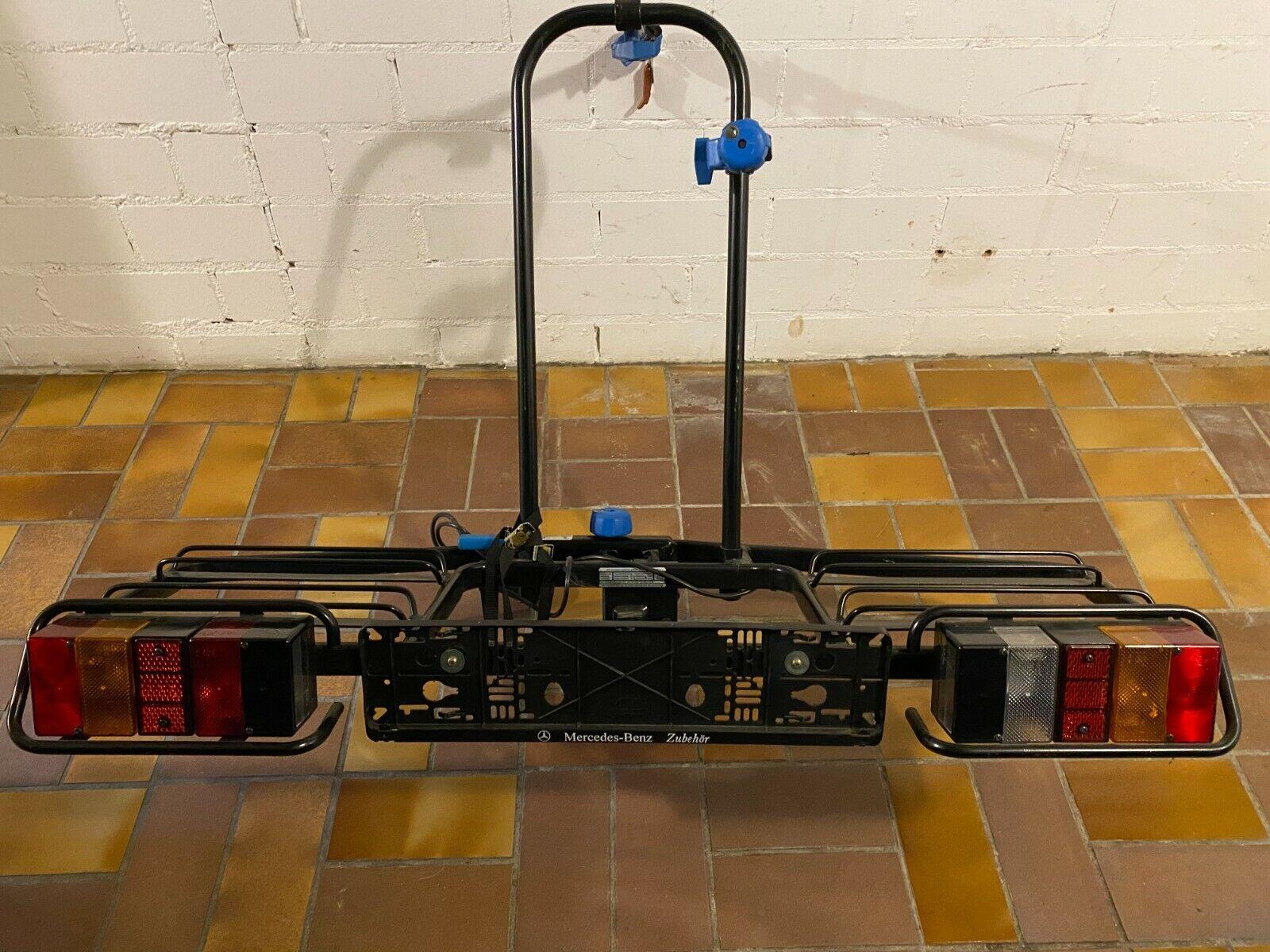 MFT Fahrradträger Heckträger für 2 Fahrräder auf die Anhängerkupplung, gebraucht