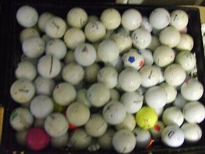 200 (10kg)  x Mixed 'Holiday' GOLF BALLS - Good/Average Quality