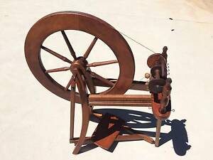 VINTAGE ASHFORD TRADITIONAL SPINNING WHEEL Cudlee Creek Adelaide Hills Preview