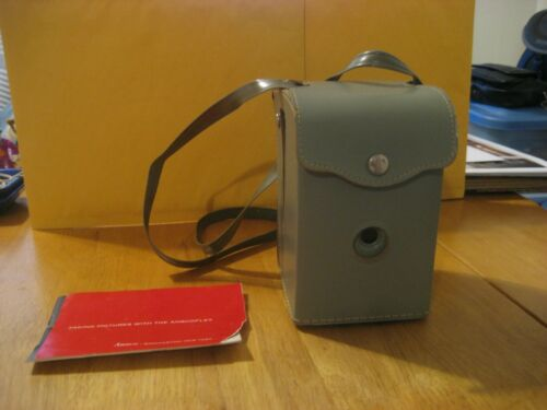 Anscoflex Box Camera With Original Fitted Case & Instructions