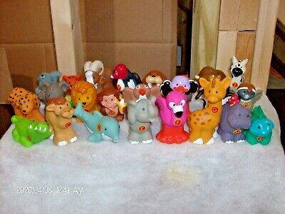 Fisher Price Little People A To Z Learning Zoo Alphabet Animals LOT OF 24 Pc