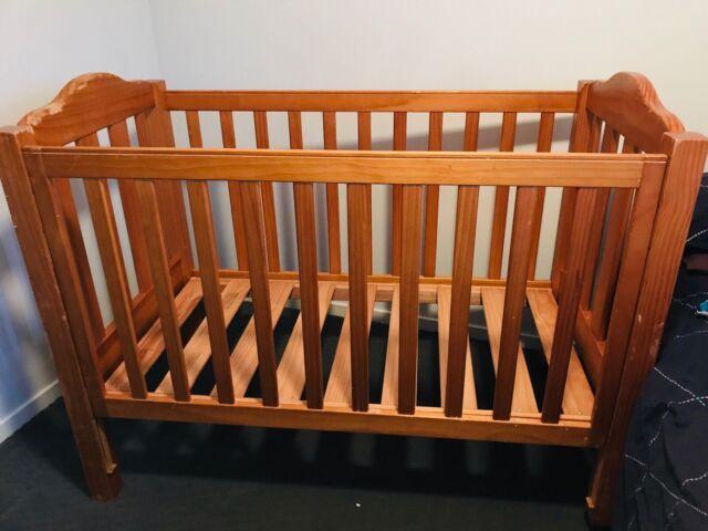 Solid wooden cot | Cots & Bedding | Gumtree Australia ...