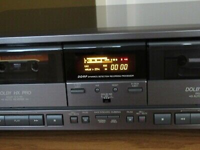 JVC TD-W707 Stereo Double Cassette Tape Deck Player / Recorder NEW In Box Jvc Cassette Player