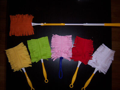 DUSTER FLEECE (1) REUSABLE WASHABLE SWIFFER STYLE REFILL DOUBLE-SIDED - Double Duster Refill