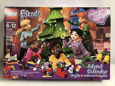 LEGO Friends Advent Calendar 41353 (24 Gifts) New In Slightly Worn Box