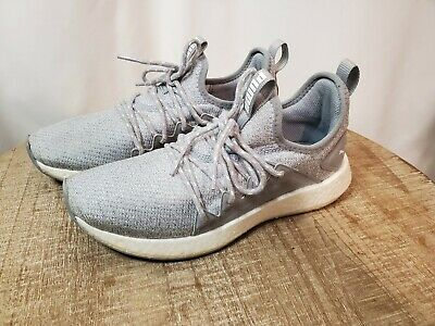 🔥 Puma Nrgy Neko  Casual Running Shoes Grey Womens Sz 7 Cushion Support Workout