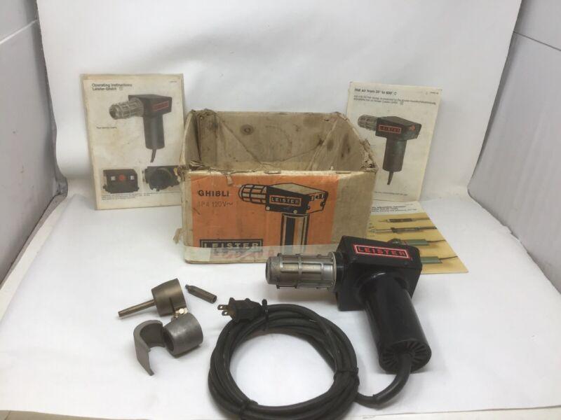 Leister GHIBLI Kagiswil Heat Gun Hot Air Blower IN BOX W/ PAPERS TESTED WORKS!