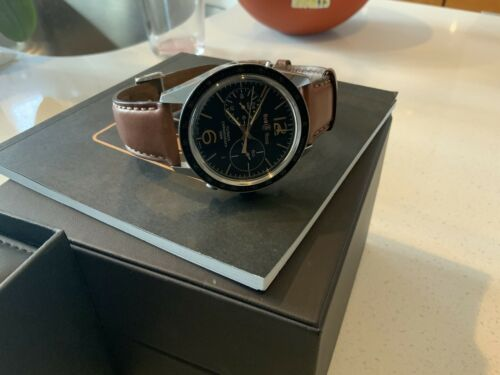 Bell & Ross Vintage BR 126 Sport Heritage GMT & Flyback #176 of 500 - watch picture 1