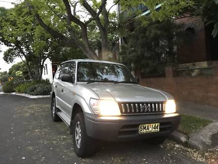 1998 Toyota LandCruiser SUV fully equipped for Camping/Travelling Glebe Inner Sydney Preview