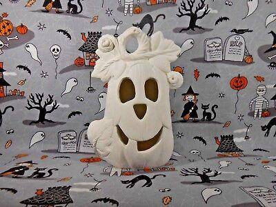 Halloween Pumpkin Luminary (H34) Ceramic Bisque You Paint