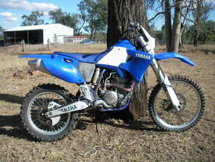 YAMAHA WR250F Biloela Banana Area Preview