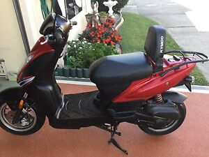 KYMCO MOPED MOTORBIKE SCOOTER 50CC & HELMET EXCELLENT Coombabah Gold Coast North Preview
