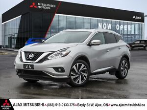 2017 NISSAN MURANO PLATINUM-ACCIDENT FREE/LOADED