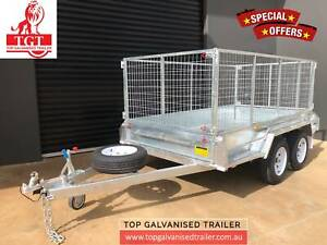 10x6 Tandem Trailer Galvanised Fully welded 900mm Cage Light Truck Tyr Ringwood Maroondah Area Preview