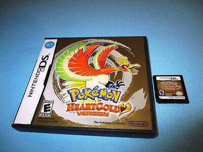 Pokemon Heartgold Version (Nintendo DS) Lite DSi XL 3DS 2DS w/Case (No Manual) ()