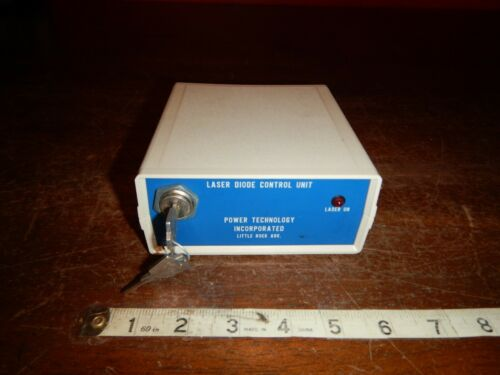 Power Technology Incorporated - Laser Diode Control Unit - LDCU12/4997 - w/ Keys