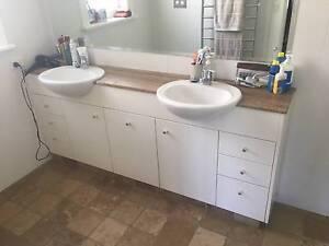 Single & Double Vanity, MIrrors x 2, Shower screens x 2 - BARGAIN Mosman Mosman Area Preview