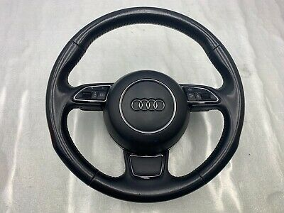 2011-2018 AUDI A6 A7 A8 S7 S6 3 SPOKE STEERING WHEEL WITH SHIFT PADDLES