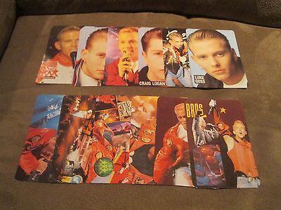 BROS Complete Calendar Cards Set; Mint Set of 12; 1990; Rock Music