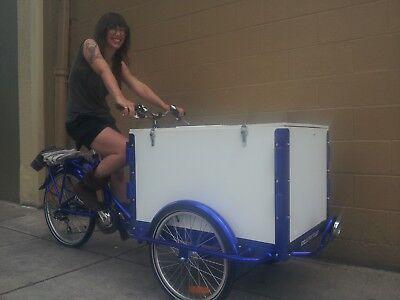 Icicle Tricycle Ice Cream Bike Dark Blue