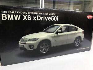 Kyosho 1/18 BMW X6 in white diecast