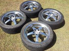 17x7.5 5X110 Astra, Saab Alloy Mag Wheels Set of 4 Arundel Gold Coast City Preview
