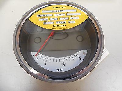 NEW ERDCO ARMOR-FLO GPM FLOW METER 3461-03T0 346103T0 FREON R-114 400PSIG
