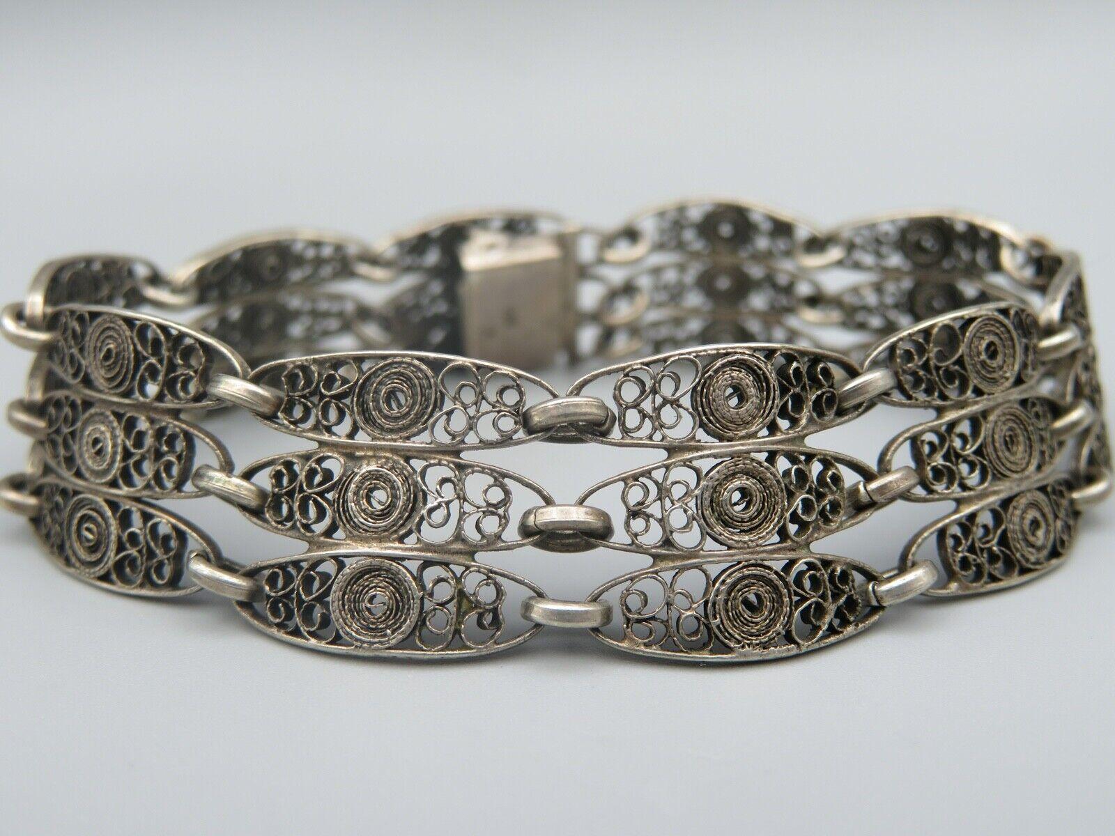 Silber 835 Armband Armkette