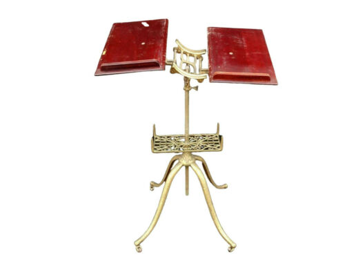 Book Stand, Antique Victorian, Adjustable,19th Century ( 1800s ), Gorgeous!