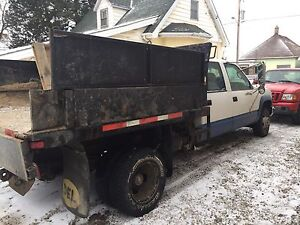 1997 Chevy 3500 with hydrologic dump