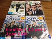 tv shows dvds the office 1, 2,3 part 1, 3 part 2 $20 Cranbourne West Casey Area Preview