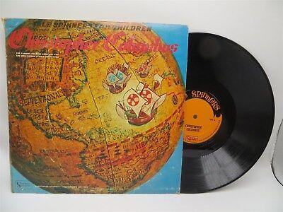 Christopher Columbus - Tale Spinners For Children LP Vinyl Record G